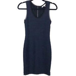Rachel rachel roy blue sheath dress sleeveless